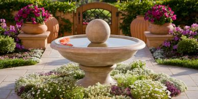 Fountain Landscaping Sioux Falls
