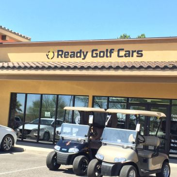 Front of Ready Golf Cars in Mesquite, NV
