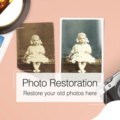 restore an old photo