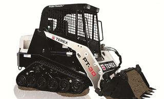 positrack bobcat skid steer loader newcastle lake Macquarie Belmont thornton hire 4 in 1 bucket