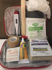 Small Red First-aid kit