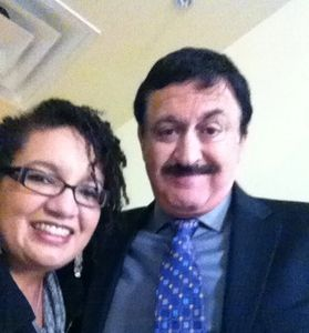 Heidi Hollis and George Noory