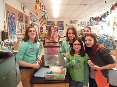 """Women in STEM"" Mini Grant to support girls at Oyster River Middle School, 2013-2014"