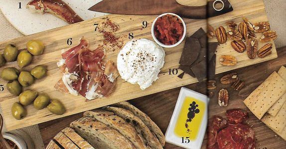 Building your masterpiece with local valley fare is half the fun. Carolina's Chocolate was the artisan chocolate choice for Phoenix Home and Garden Local Fare cheese board article. Add it to spice up the selection.