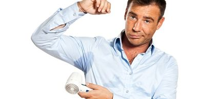 Excessive sweating is caused by overactive sweat glands in the underarm, palm of the hands or feet.