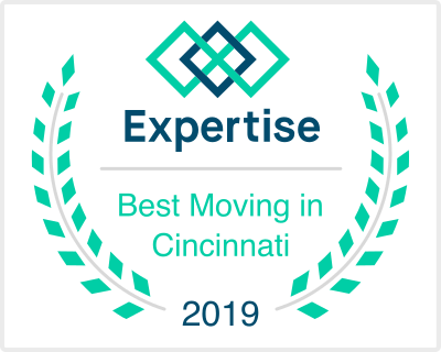 We are so honored to be in the top 5 of Cincinnati's best movers by Expertise.com!