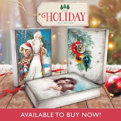 Dickens 2020 Christmas Tile 2020 Holiday Collection | Final Touch Designs