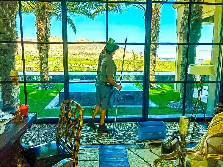 Window Cleaning Palm Springs. Busy Bugs Window Cleaning.