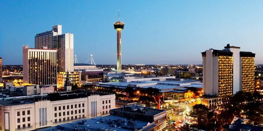Skyline of San Antonio, Texas