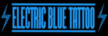 Electric Blue Tattoo