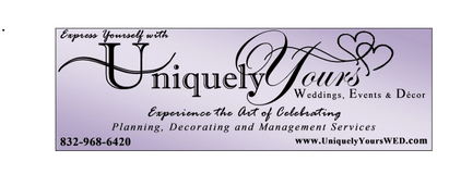 Uniquely Yours Weddings, Events & Decor