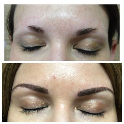 Before & After Digital Microblading
