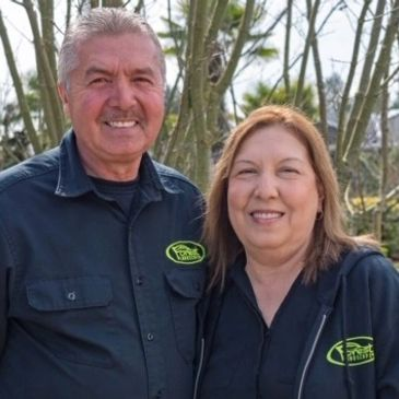 Rigoberto and Josefina from Forest Landscape Inc