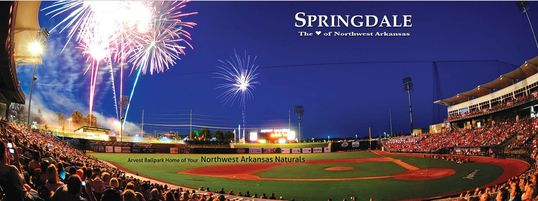 Visit Arvest Park and watch the Arkansas Naturals