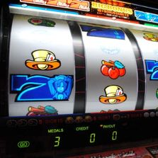 Amherst Casino Events slot machine reels spinning