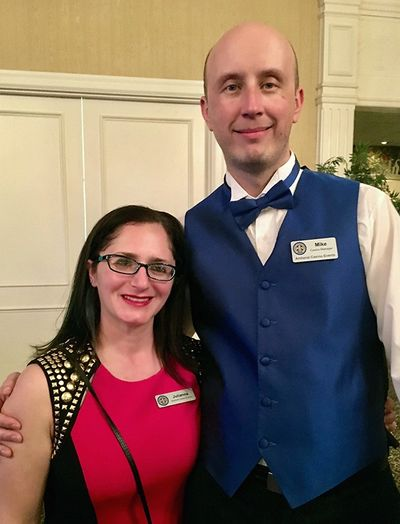 Mike and Julie Jurkowski of Amherst Casino Events