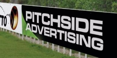 The most visual, recognisable and cost effective type of advertising associated with a Matchday.