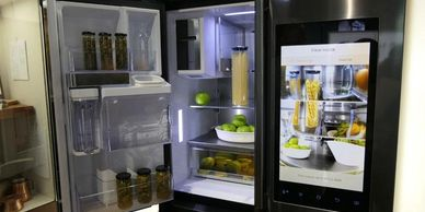 Residential refrigerator in Springfield, MO. Service Brothers 417-987-8636