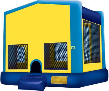Blue inflatable Bounce House