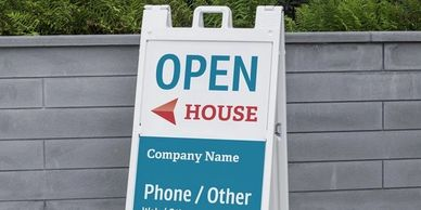 sign, san diego, signacade, business sign, promotion sign, open house sign, real estate sign