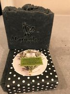 A CARING TOUCH SKIN THERAPY Charcoal Grey Soap