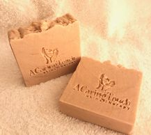 A CARING TOUCH SKIN THERAPY Goatmilk Soap
