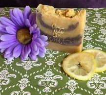 A CARING TOUCH SKSIN THERAPY Lavendergrass Soap