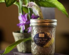 A CARING TOUCH SKIN THERAPY Lavendergrass Body Scrub