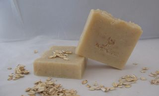 A CARING TOUCH SKIN THERAPY Goat Milk Oatmeal Honey Soap