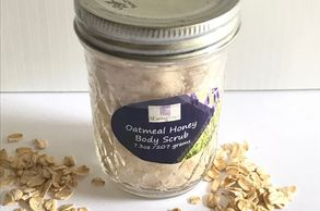 A CARING TOUCH SKIN THERAPY Oatmeal Honey Body Scrub
