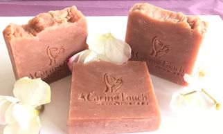 A CARING TOUCH SKIN THERAPY Strawberry Soap
