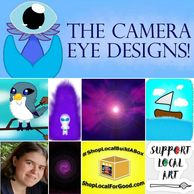 The Camera Eye Designs is offering original art prints & greeting cards