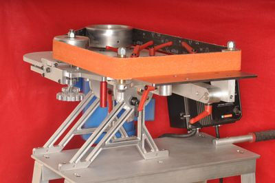 2x72 Belt grinder, Horizontal, Vertical, Tilting stand, Mobile Bench, Variable speed, Speed control