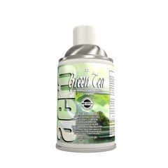 air freshener, metered air, fruit, odor control, odor, aerosol, fresh, green tea, lotus