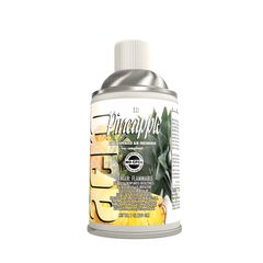 air freshener, metered air, fruit, flowers,  odor, aerosol, fresh, pineapple, kiwi, citrus, rose