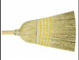 sweeping, broom, corn broom, floor maintenance