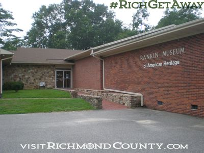 The Rankin Museum in Ellerbe North Carolina. Ellerbe NC. History. Museums. Native American History. Dr. Rankin. Small town.