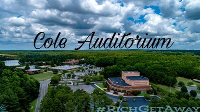 Richmond Community College Cole Auditorium in Hamlet North Carolina. Music. Entertainment. Arts. Performance. Auditorium.