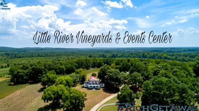 Little River Vineyards & Events Center Mt Gilead NC . Richmond County NC. US HWY 73. Ellerbe NC. Winery. Weddings. Event center. Venue
