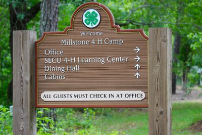 Millstone 4H Camp Ellerbe North Carolina. NC. North Carolina State University