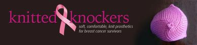 Banner for the knitted knockers national organization