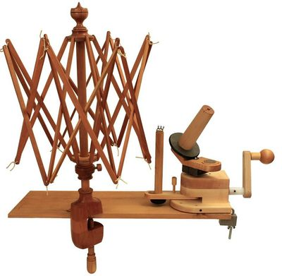 Yarn swift and ball winder