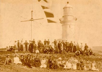 South Solitary Island Opening Ceremony 1880