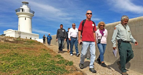 Walking Guided Tour on South Solitary Island