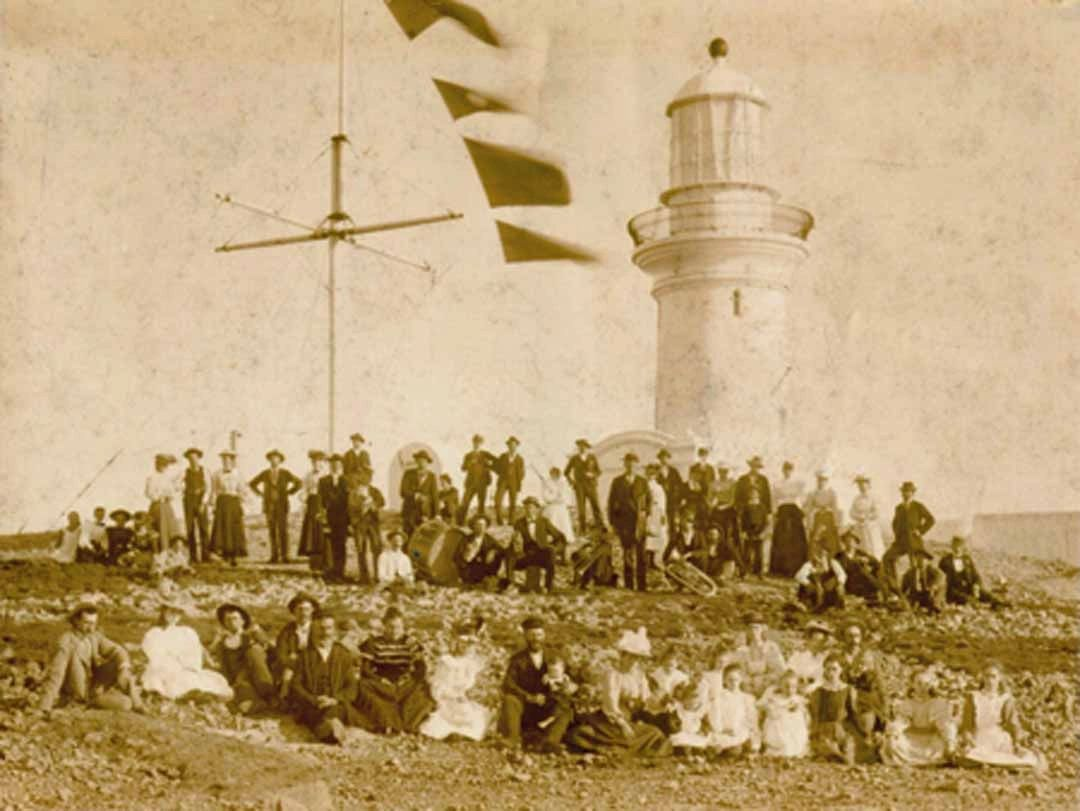 1880 Opening Ceremony of South Solitary Island, New South Wales, Australia