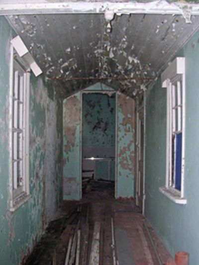 Inside the building of South Solitary Island, New South Wales
