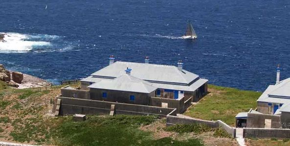 Assistant Keeper's Cottages (after stabilisation works in 2004) South Solitary Island, NSW