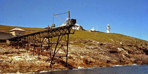 Gantry - 1963 South Solitary Island, New South Wales