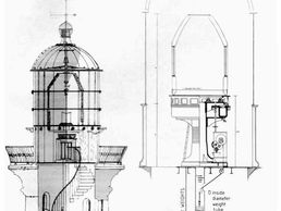 South Solitary Island Lighthouse Technical Architect Plans