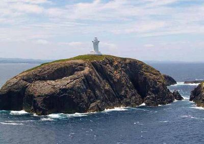 South Solitary Island shaped like a crouching lion